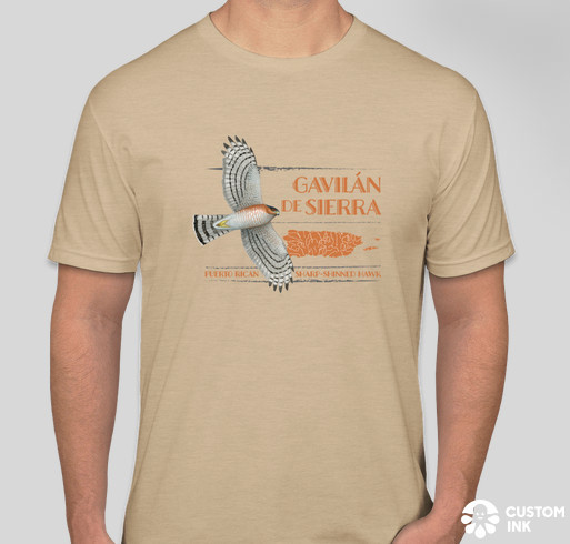 Puerto Rican Sharp-shinned Hawk tee