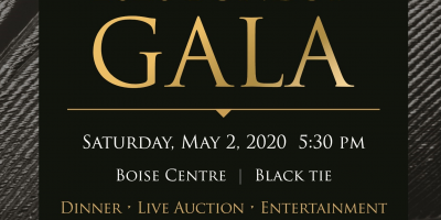 An invitation to FUNDSY's Gala to benefit The Peregrine Fund.